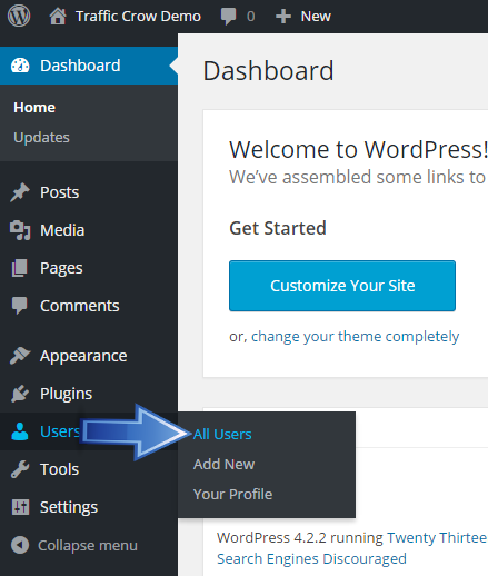 Add New Users And Customizing Users In WordPress Site