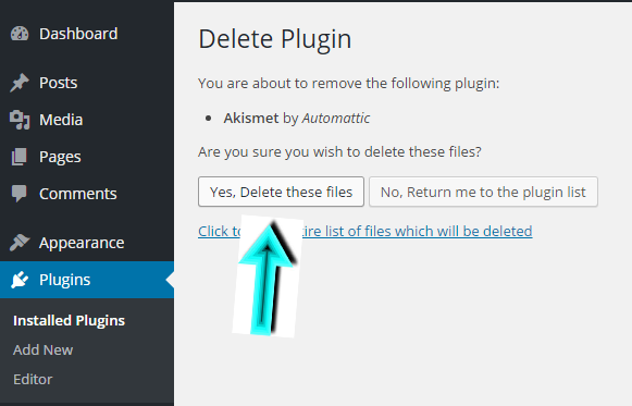 How To Deactivate And Delete Plugins In WordPress Dashboard