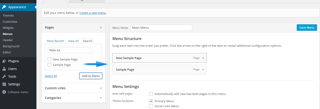 How To Make Menu Items In WP To Open In New Tab