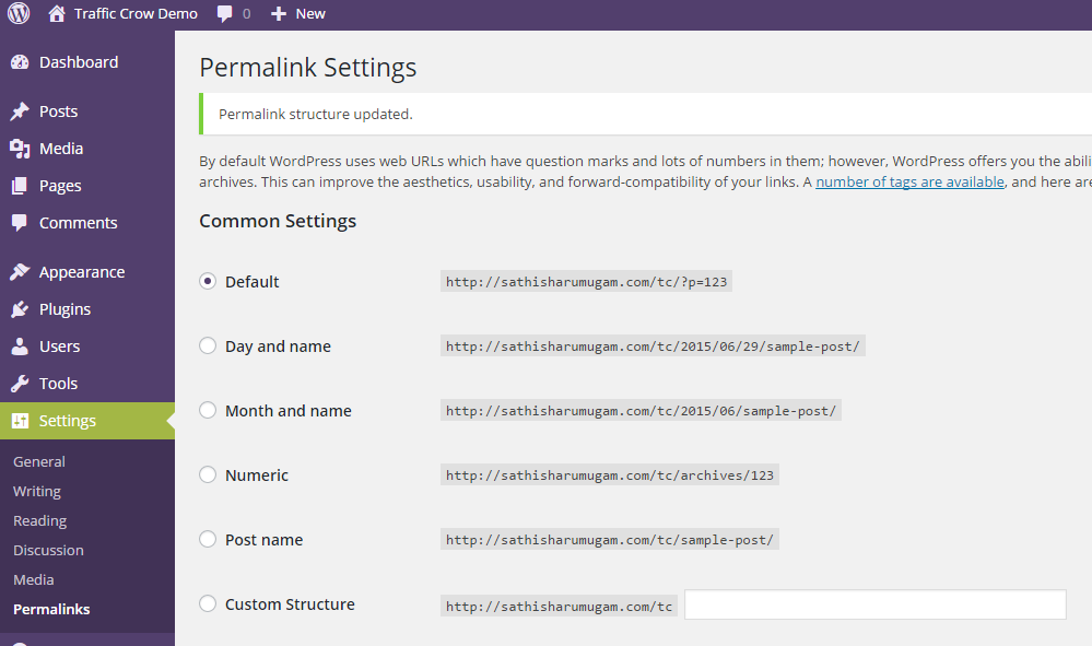 How To Customize Permalink In WordPress Post/Page