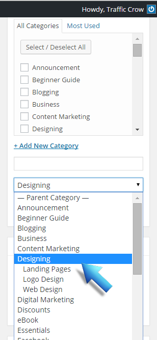 How to Use WordPress Categories and Tags Effectively 4