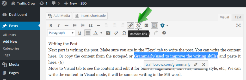 How to Add a New Post in WordPress 10
