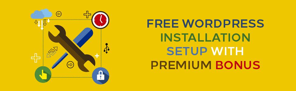 free-wordpress-installation-setup-with-premium-bonus