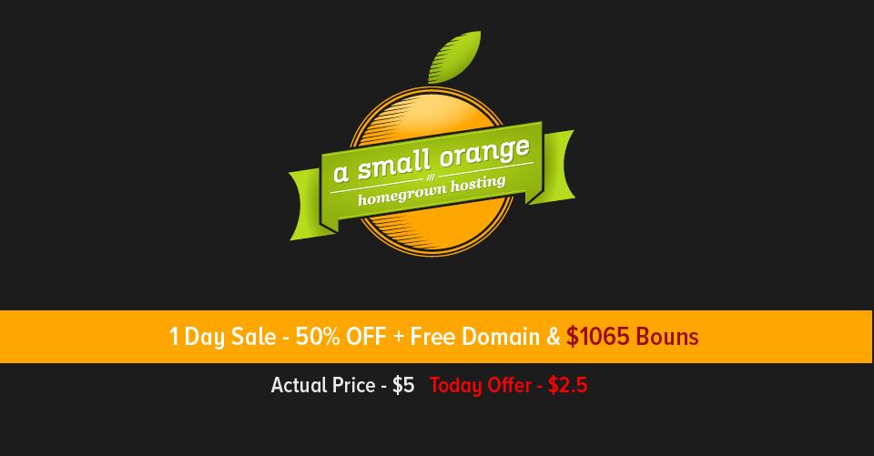 ASmallOrange Earthday Discount Coupon April 2016