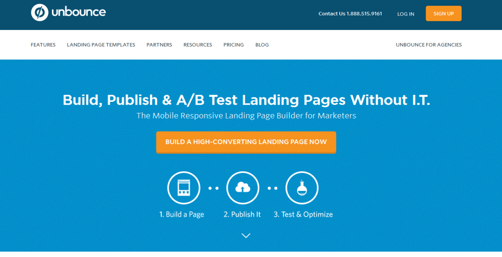 GetResponse VS UnBounce Landing Page Builder Review Detailed Comparison 1
