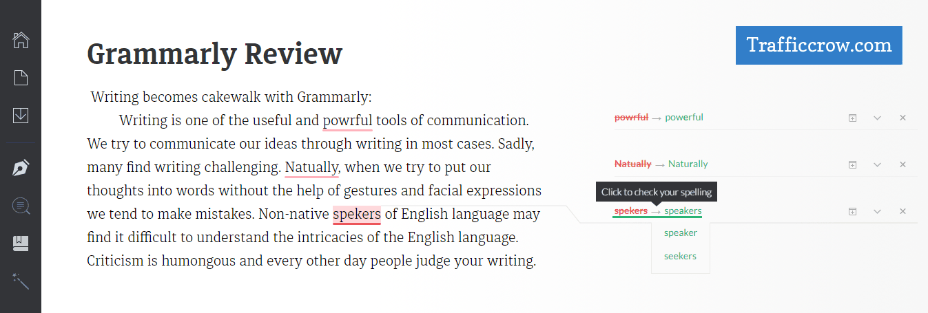 Grammarly Test My Paper