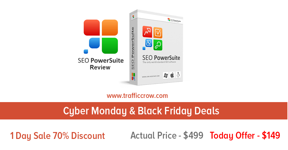 SEO Powersuite Black Friday Deals 2016, SEO Powersuite Cyber Monday Sale 2016