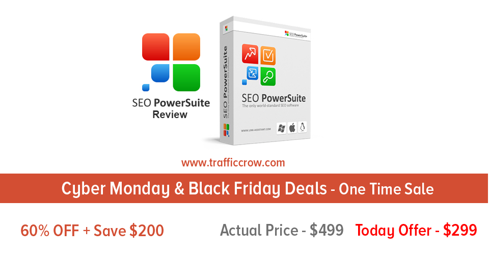 SEO Powersuite Black Friday Deals 2016