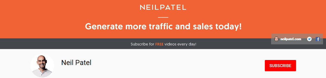 Neil-Patel-Youtube