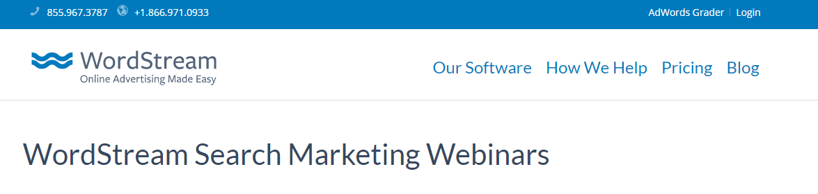WordStream-Webinar