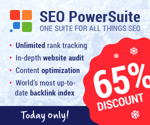 SEO Powersuite Christmas