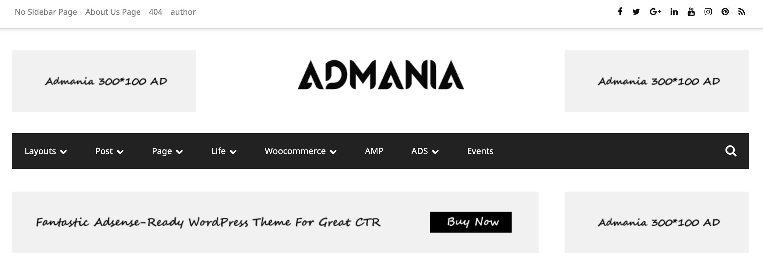 Admania Black Friday Deals 2019