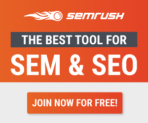 SEMRush Black Friday Banner