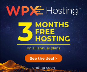 WPX Hosting Black Friday 2019