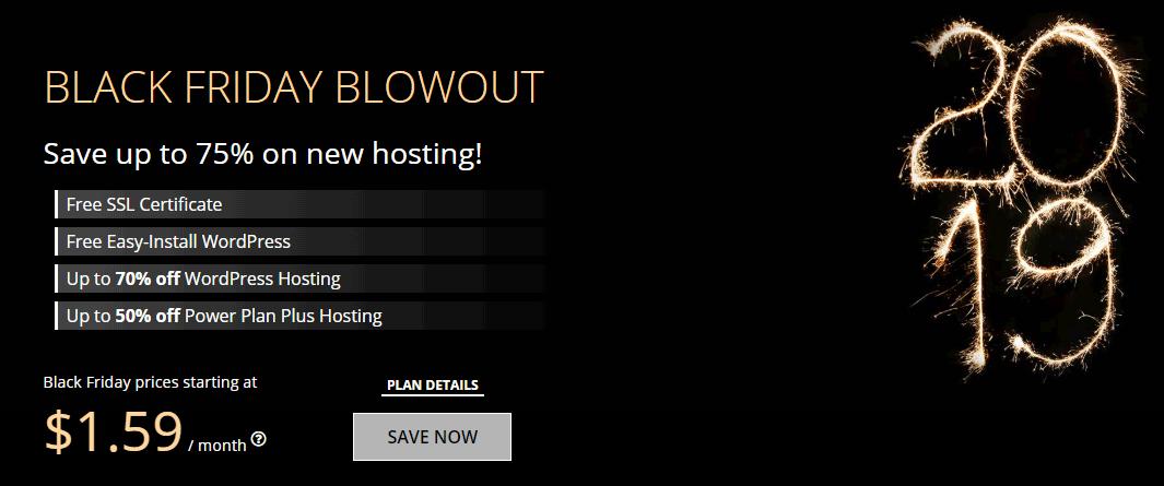 WebHostingPad Black Friday Sale Deals