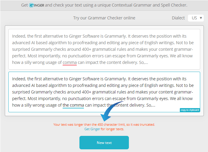 Ginger Software Free Grammar Checker Online